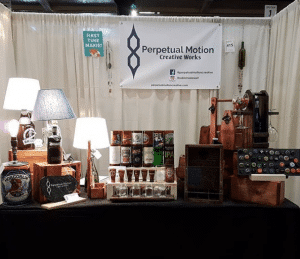 Perpetual Motion Trade Show display