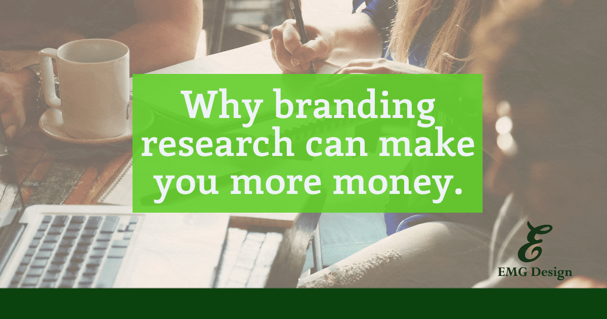 """Do your research. This is a very simple, but time consuming step in design that some business owners neglect—to the detriment of their bottom line. One of the purposes of branding is to raise the perceived value of your product or service. Branding is developed to make your product memorable and stand out to customers. It will also make it easier to launch new products and create a long term customer base. Branding is not something pretty used to represent your company """"just because."""" Rather, branding can make you appear more professional and trustworthy. People are visual creatures. By capitalizing on the benefits of branding your business website you will increase sales. Branding isn't just your visual identity, it also embodies every aspect your customer comes in contact with. Branding affects your email marketing and social media channels, to your customer service and product packaging. Branding even affects your post-purchase follow up to customers. Everything your customer comes into contact with about your company represents your brand. Your customer experience is more important than something """"pretty"""" or """"slick."""" By developing a branding strategy for your business website, you solidify the message to your customers of what your company is about and build their trust. This will improve your bottom line. How do you or your web designer do research? First steps, designer meets with you. When you are in the research phase of designing a branding identity, your designer should have a preliminary information discussion with you that gathers basic as well as more detailed information. First, basic details such as your company name, location, years of operation, web address, etc. Then, your designer should know what you sell and to whom. How much does it cost? Where have you been selling previously? What's your company's mission? Why are you selling this particular product or service? What are your goals for your new brand identity or logo design? Are you trying to """