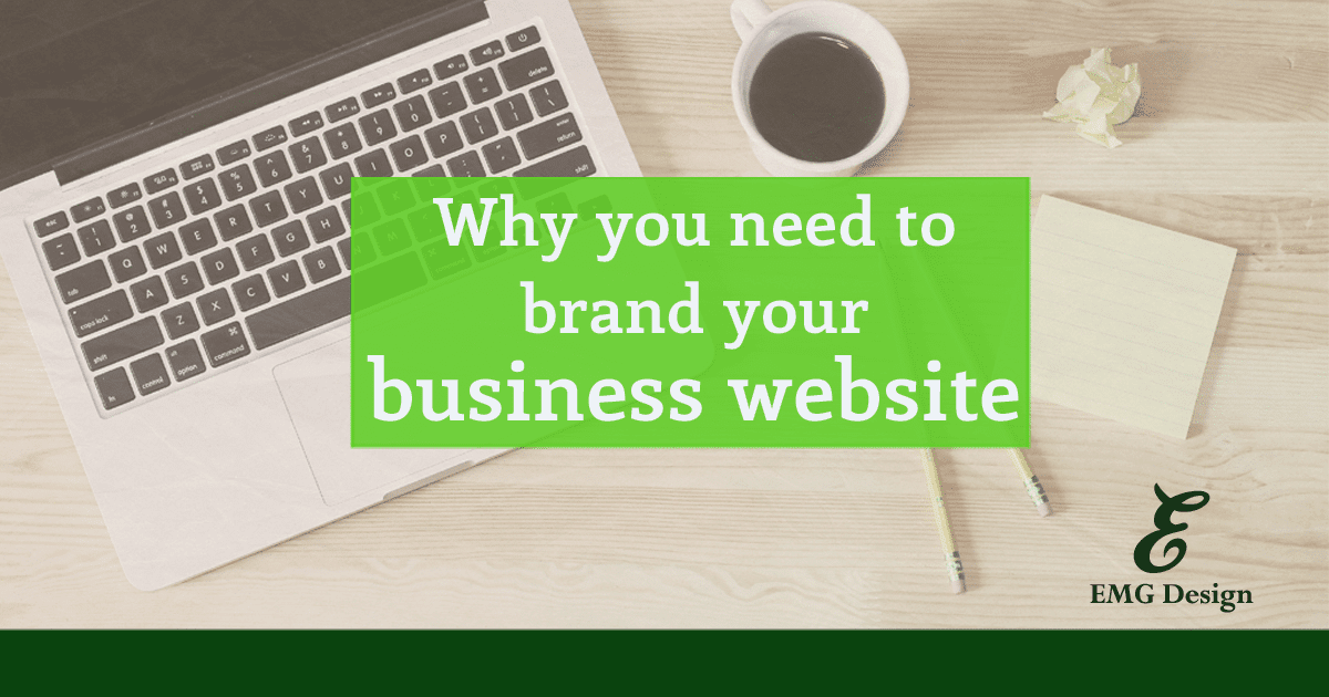 brand your business website