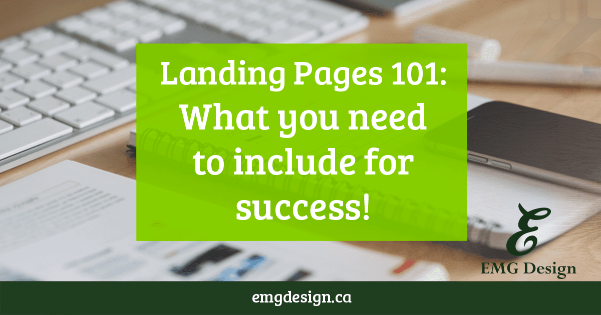 Landing Pages for Service-based Business