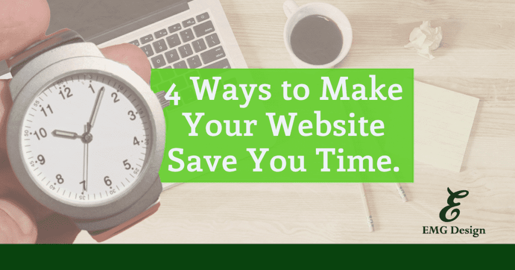 4 ways to your website save your time