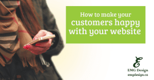 How to make your customers happy with your website